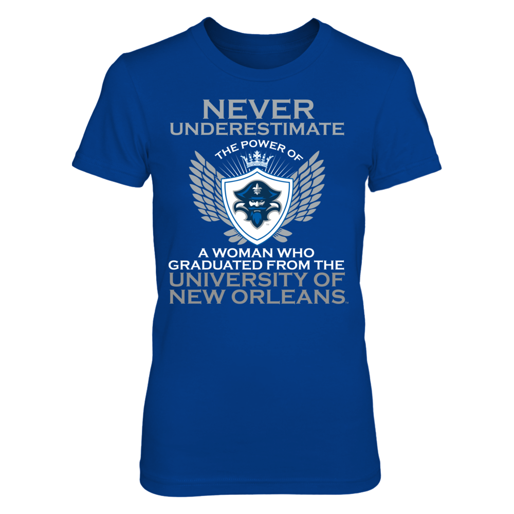 New Orleans Privateers Never Underestimate The Power Of A Woman - New Orleans Privateers FanPrint