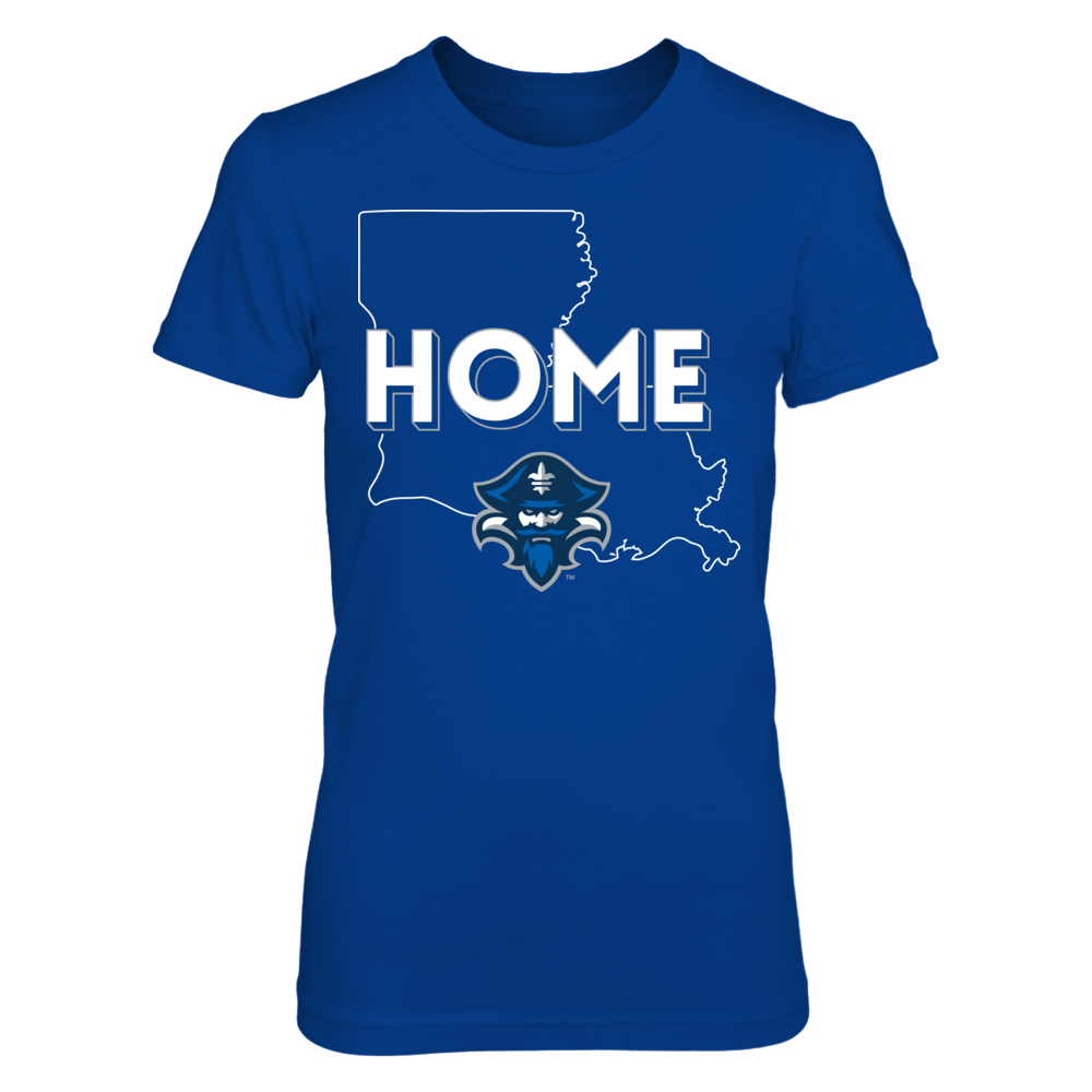 New Orleans Privateers Home With State Outline - New Orleans Privateers FanPrint