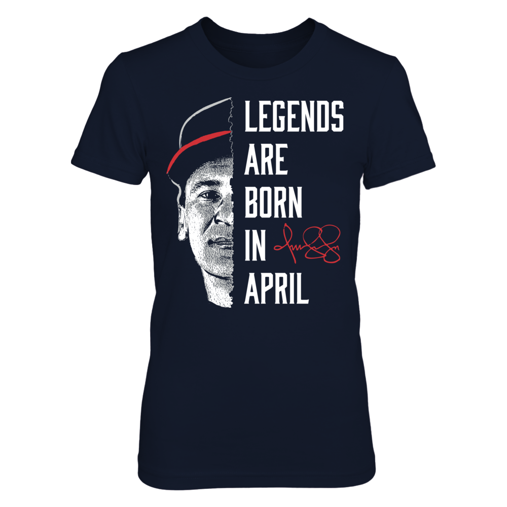 Omar Vizquel - Legends Are Born In April Front picture