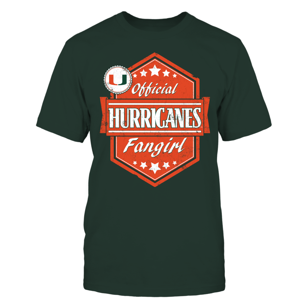 Miami Hurricanes Official Hurricanes Fangirl - Miami Hurricanes FanPrint