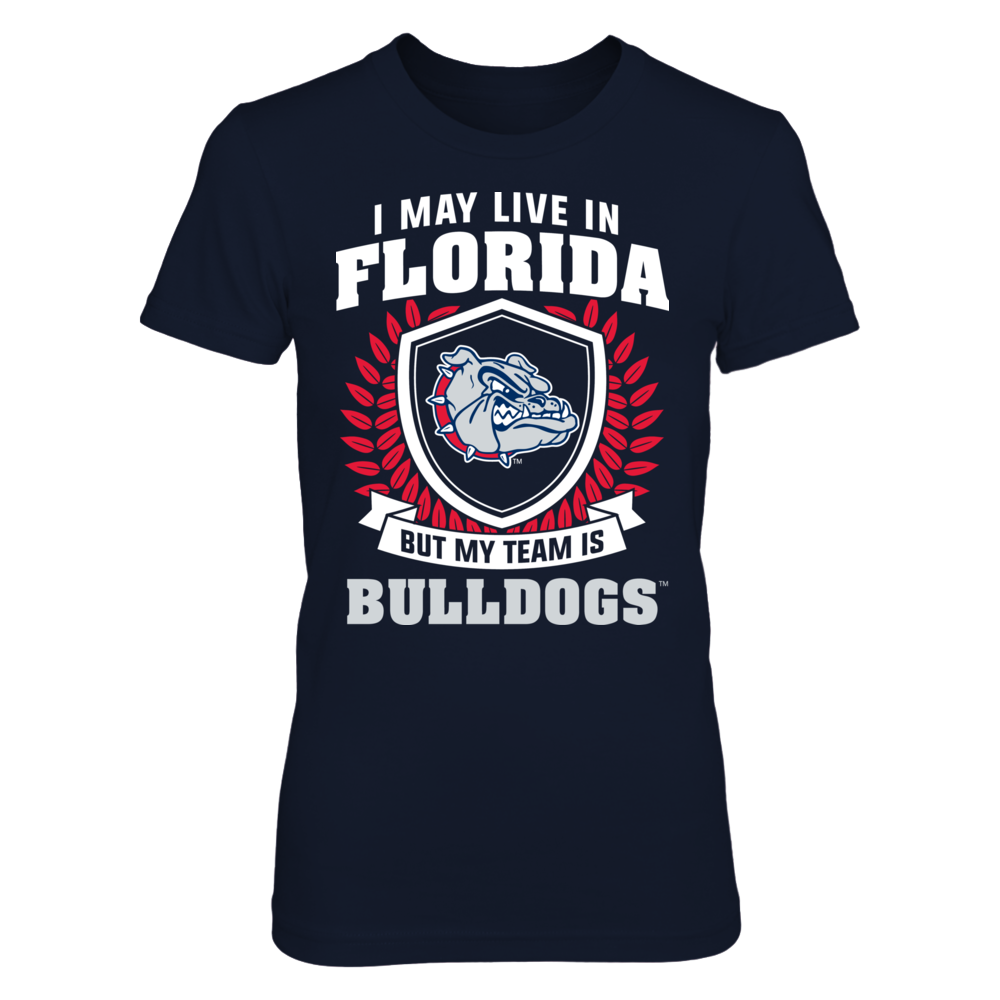 Gonzaga Bulldogs - Live In Florida But My Team Is Front picture