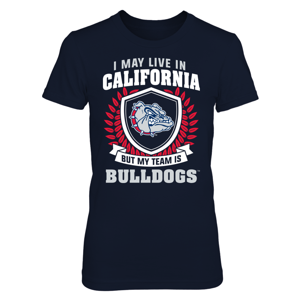 Gonzaga Bulldogs - Live In California But My Team Is Front picture