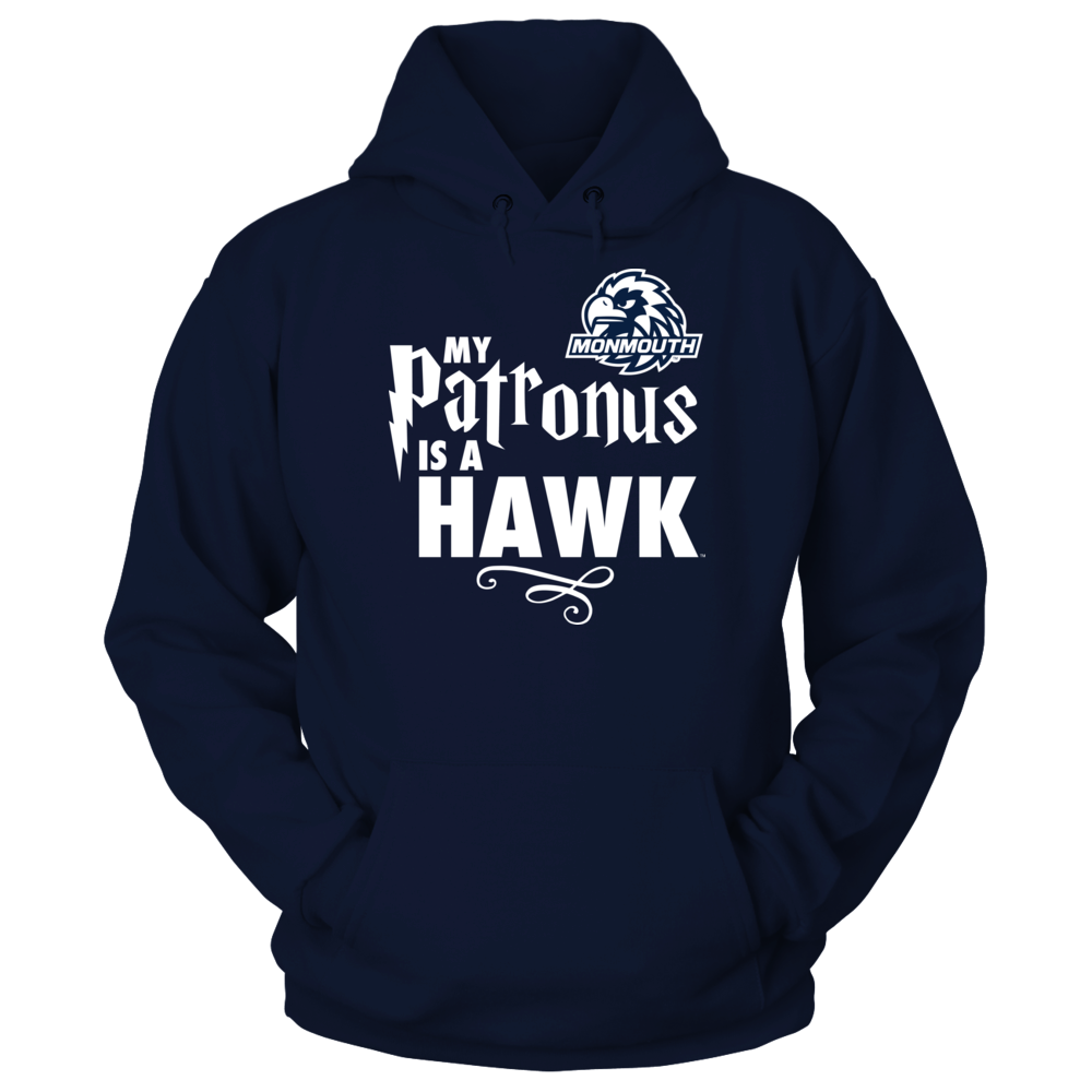 My Patronus Is - Monmouth Hawks Front picture