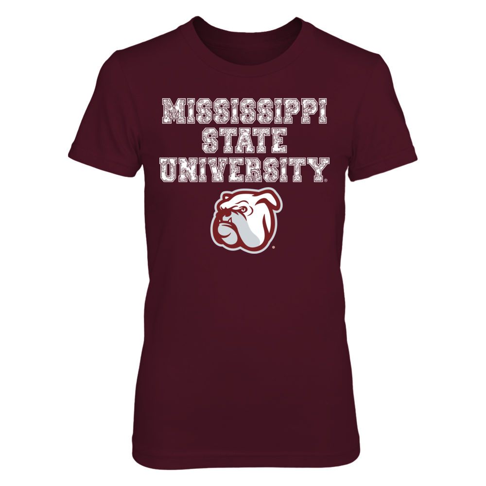 Mississippi State University Paisley Lettered Shirt Front picture
