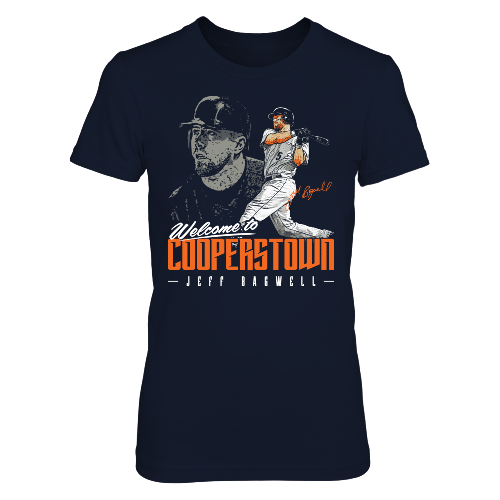 Jeff Bagwell - Welcome To Cooperstown Front picture