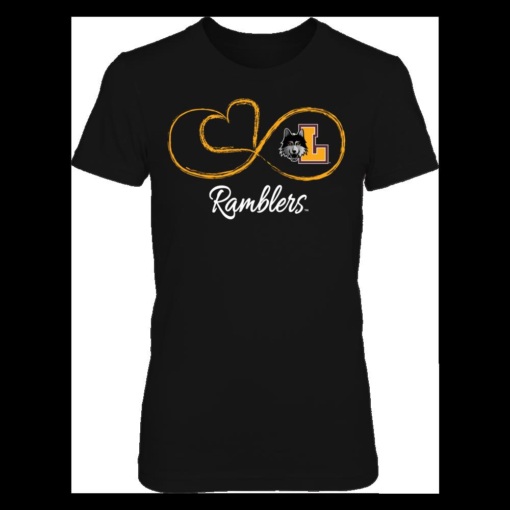 Loyola Ramblers Infinite Heart - Loyola Ramblers FanPrint