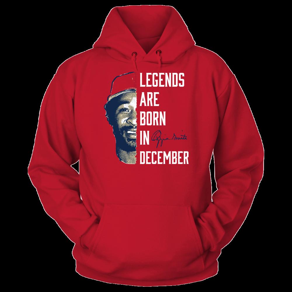 Ozzie Smith Ozzie Smith - Legends Are Born In December FanPrint