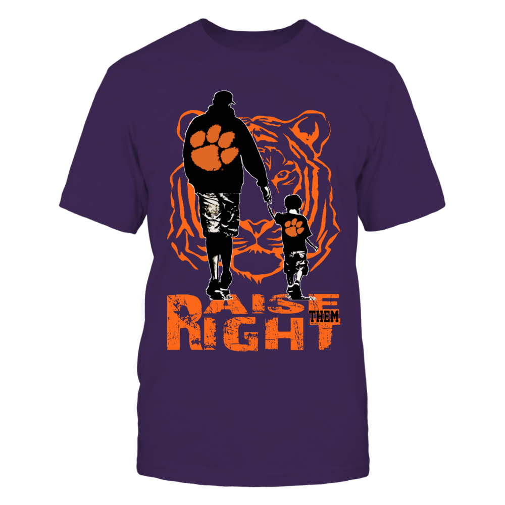 Clemson Tigers - Raise Them Right Front picture