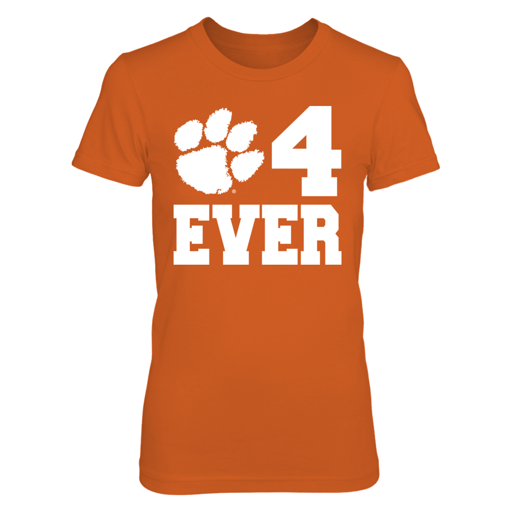 Clemson Tigers Clemson 4 Ever FanPrint