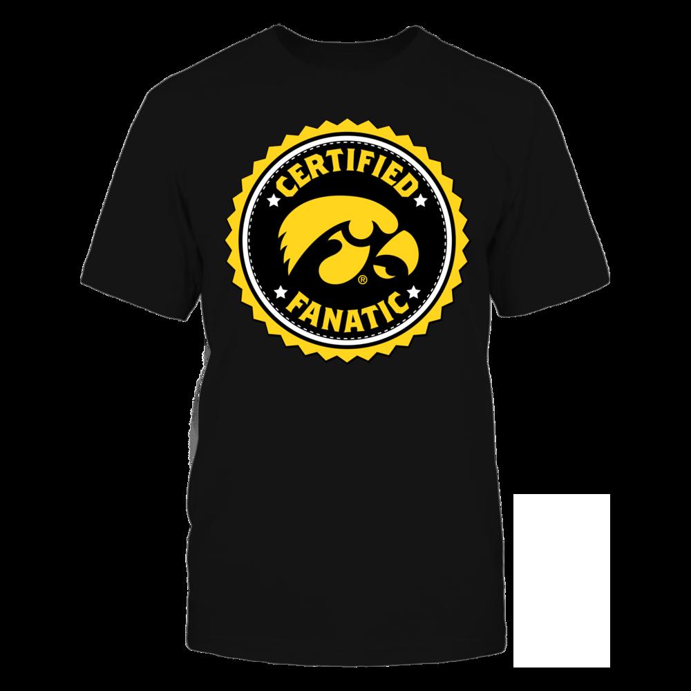 Iowa Hawkeyes Certified Iowa Hawkeyes Fanatic FanPrint