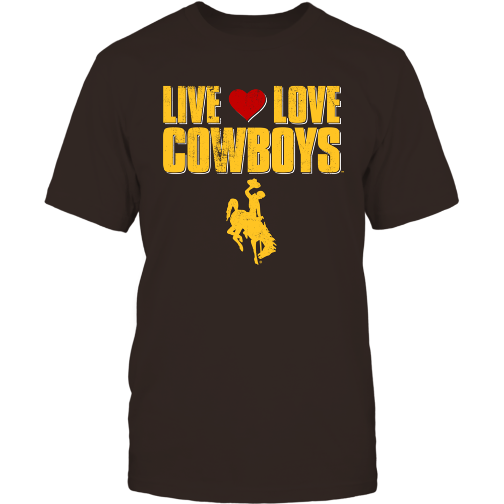 Live Love Cowboys - University of Wyoming Front picture