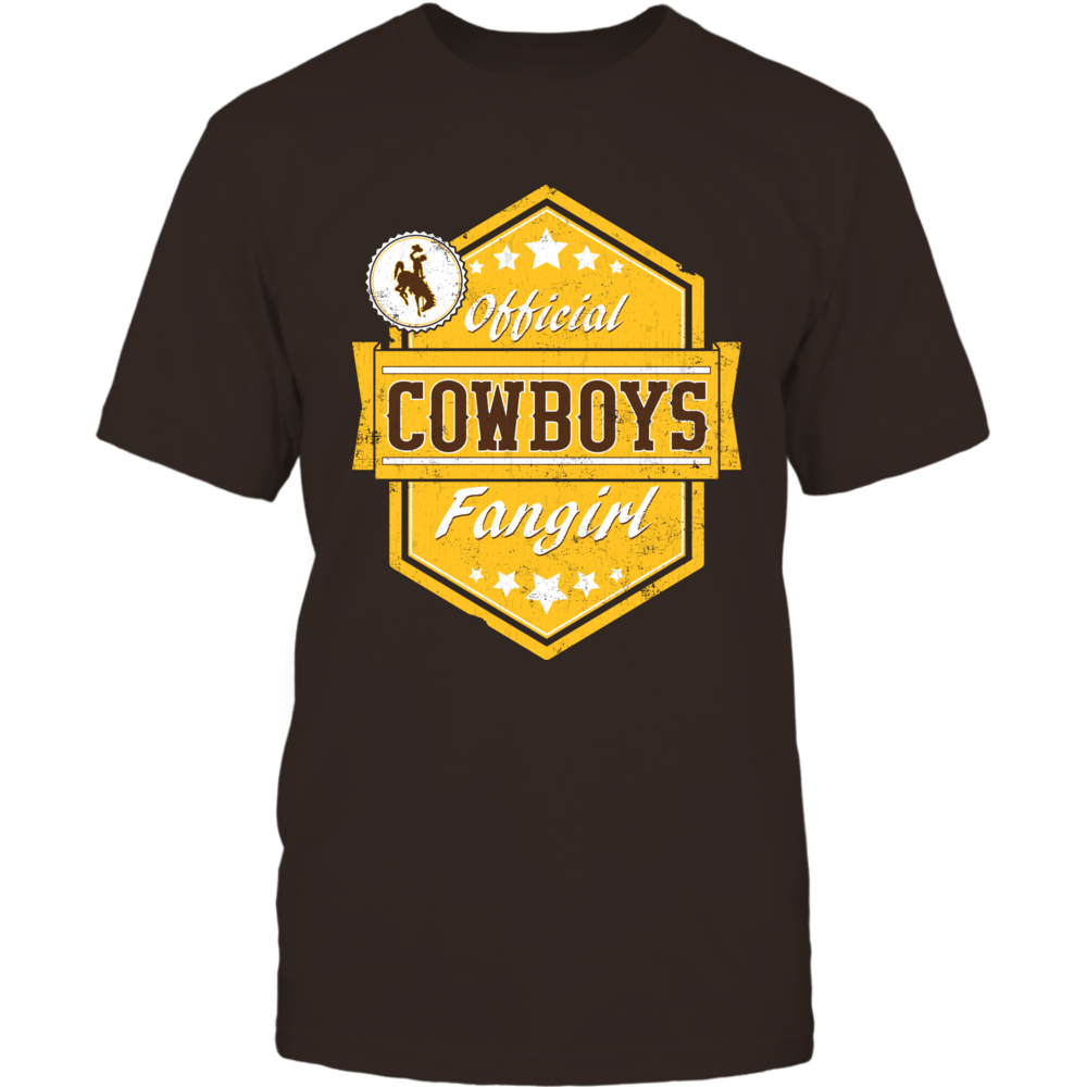 Official Cowboys Fangirl - University of Wyoming Front picture