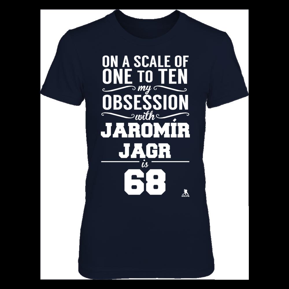 Jaromir Jagr Jaromir Jagr - Obsession Level FanPrint