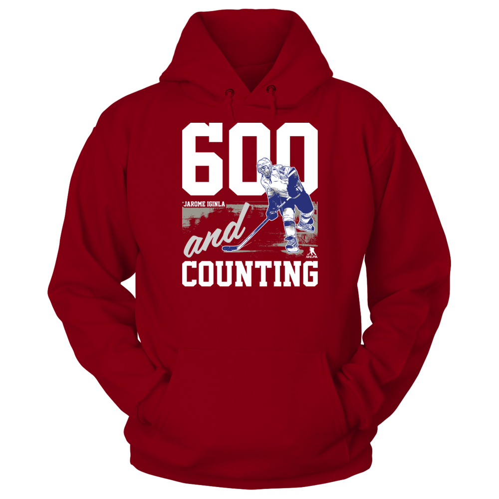600th Goal and Counting - Jarome Iginla Front picture