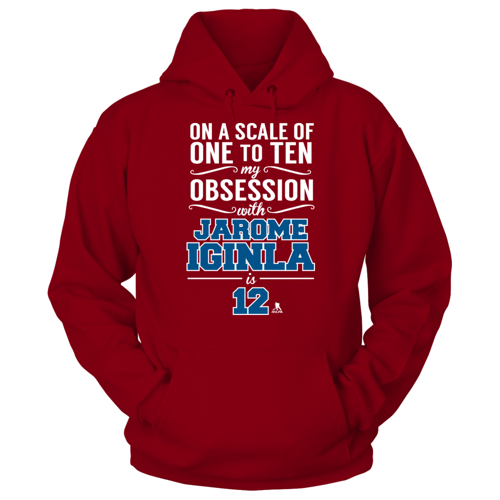 Obsession Level - Jarome Iginla Front picture