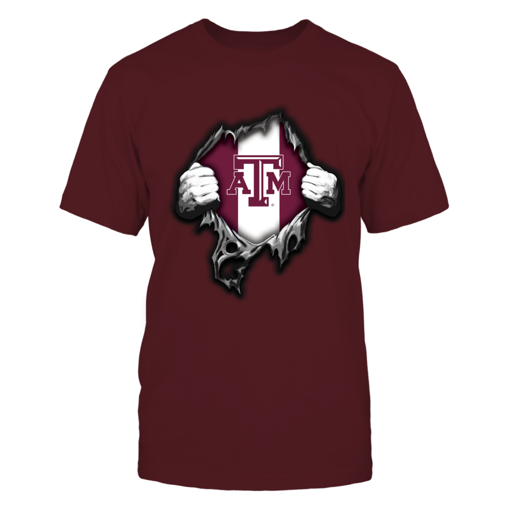 Texas A&M Aggies - Super Hero Reveal Front picture
