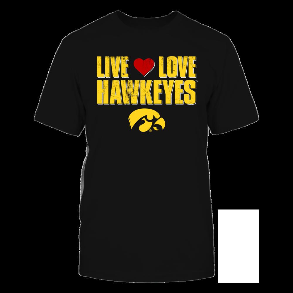 Iowa Hawkeyes Live Love Hawkeyes - University of Iowa FanPrint
