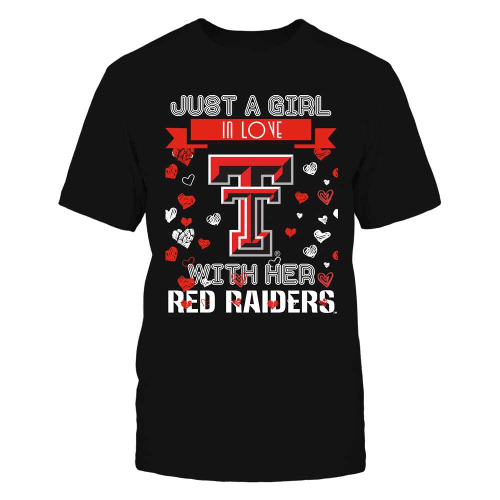 Texas Tech Red Raiders - Just A Girl Front picture