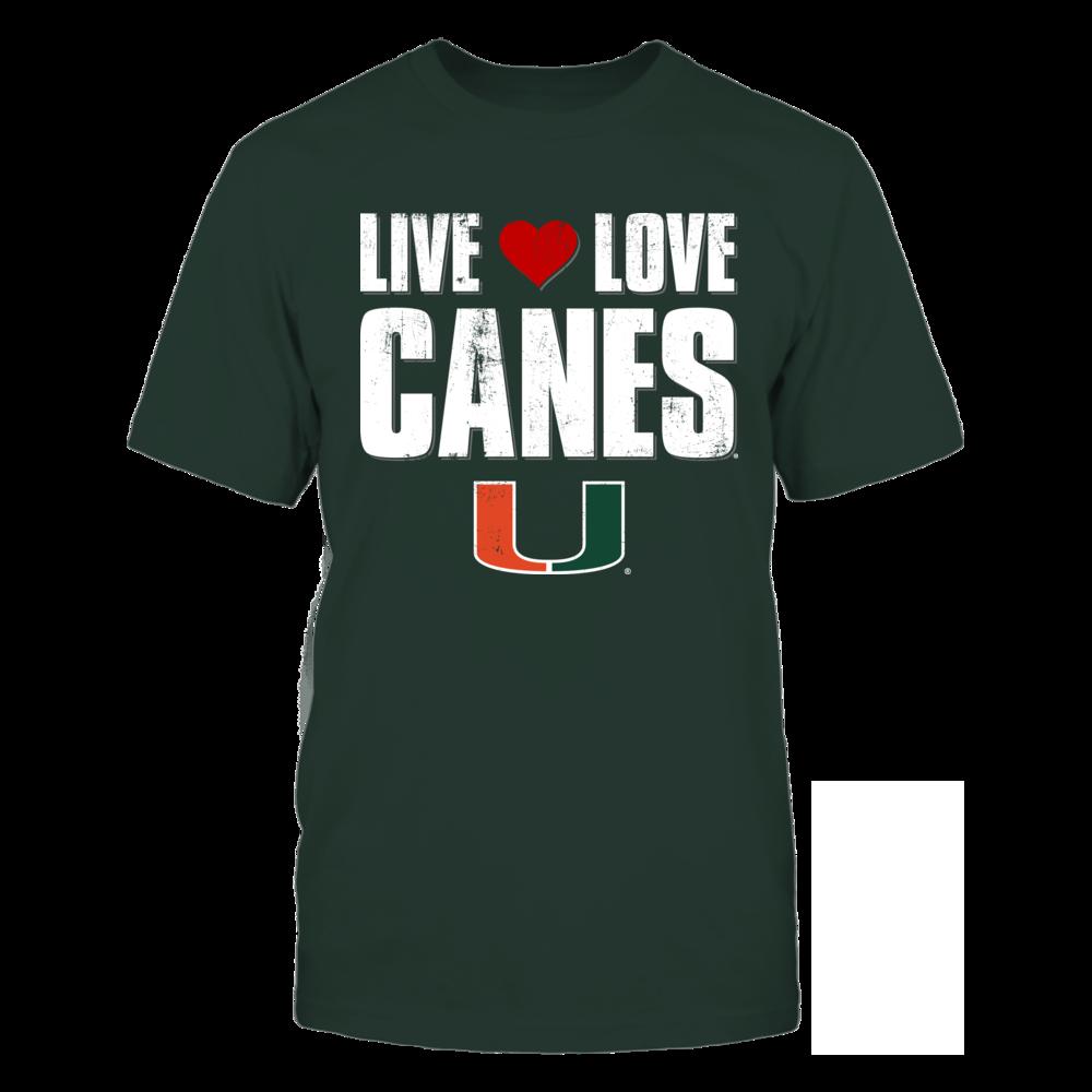 Live Love Canes - Miami Hurricanes Front picture