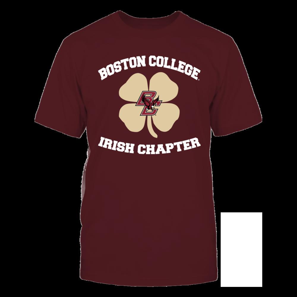 Boston College Eagles Boston College Irish Chapter FanPrint