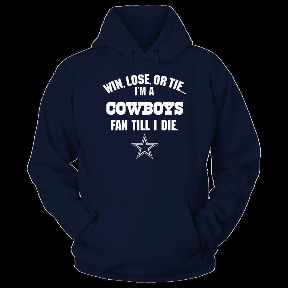 Dallas Cowboys - Win Lose Tie Front picture