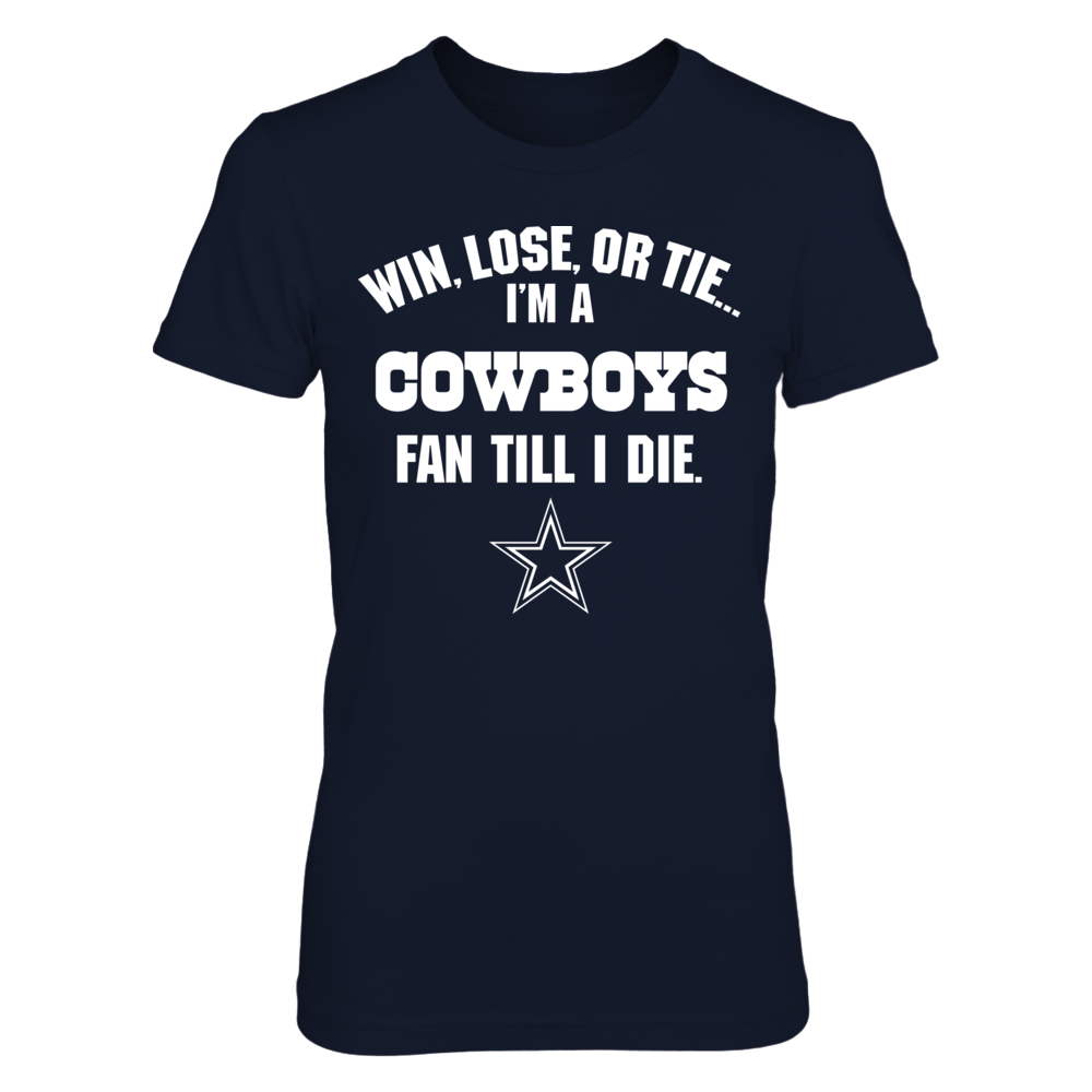 Dallas Cowboys - Win Lose Tie Front picture
