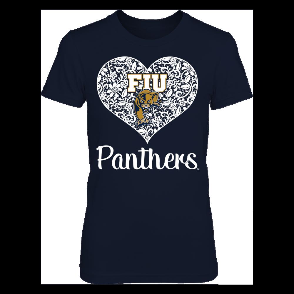 Florida International Panthers Florida International Panthers - Lace Heart Logo FanPrint