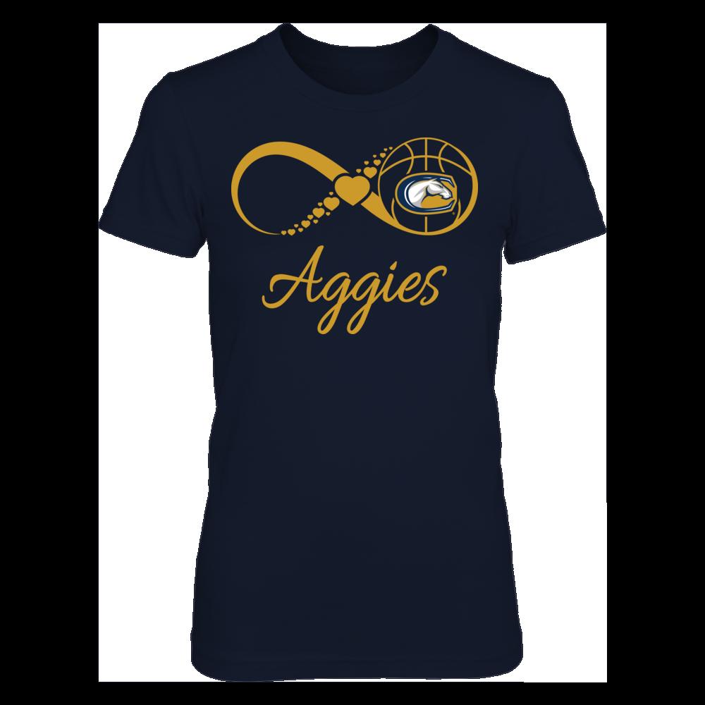 UC Davis Aggies UC Davis Aggies - Infinite Basketball Love FanPrint