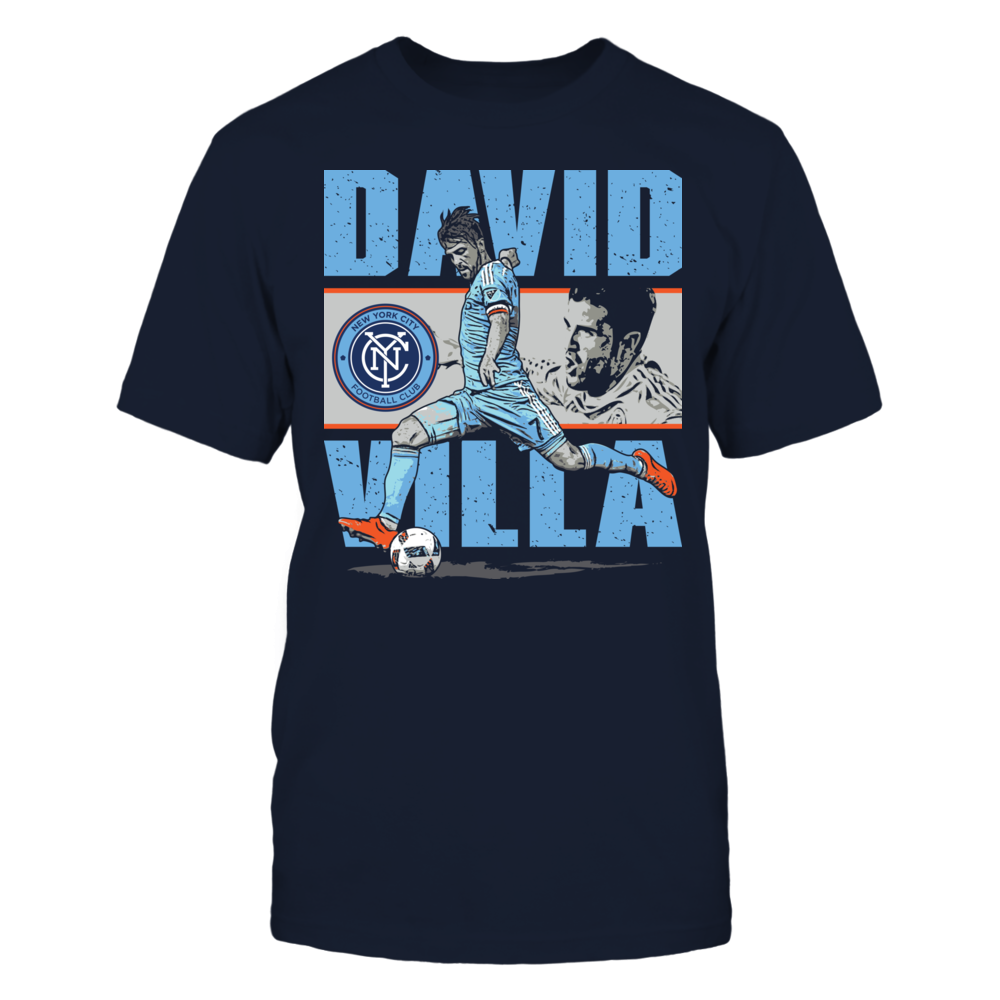 David Villa David Villa - Player Portrait FanPrint