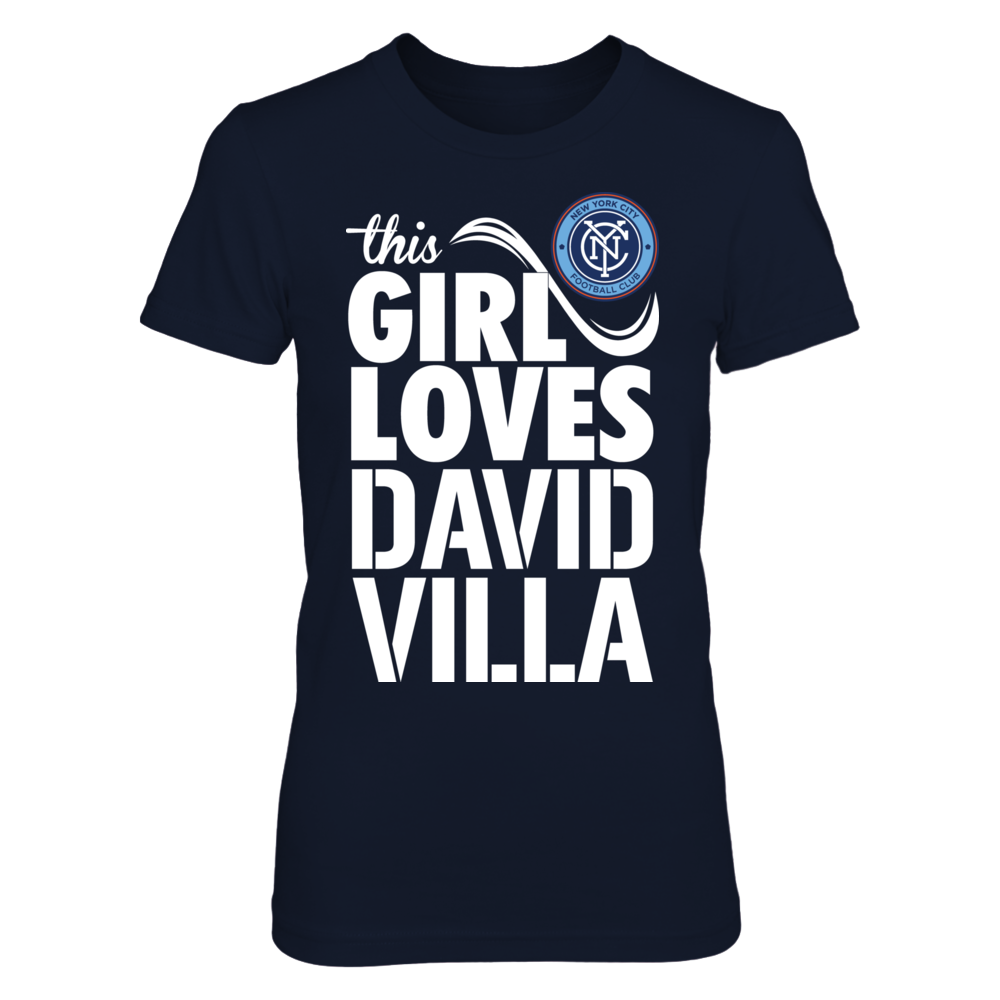 David Villa David Villa - This Girl Loves FanPrint