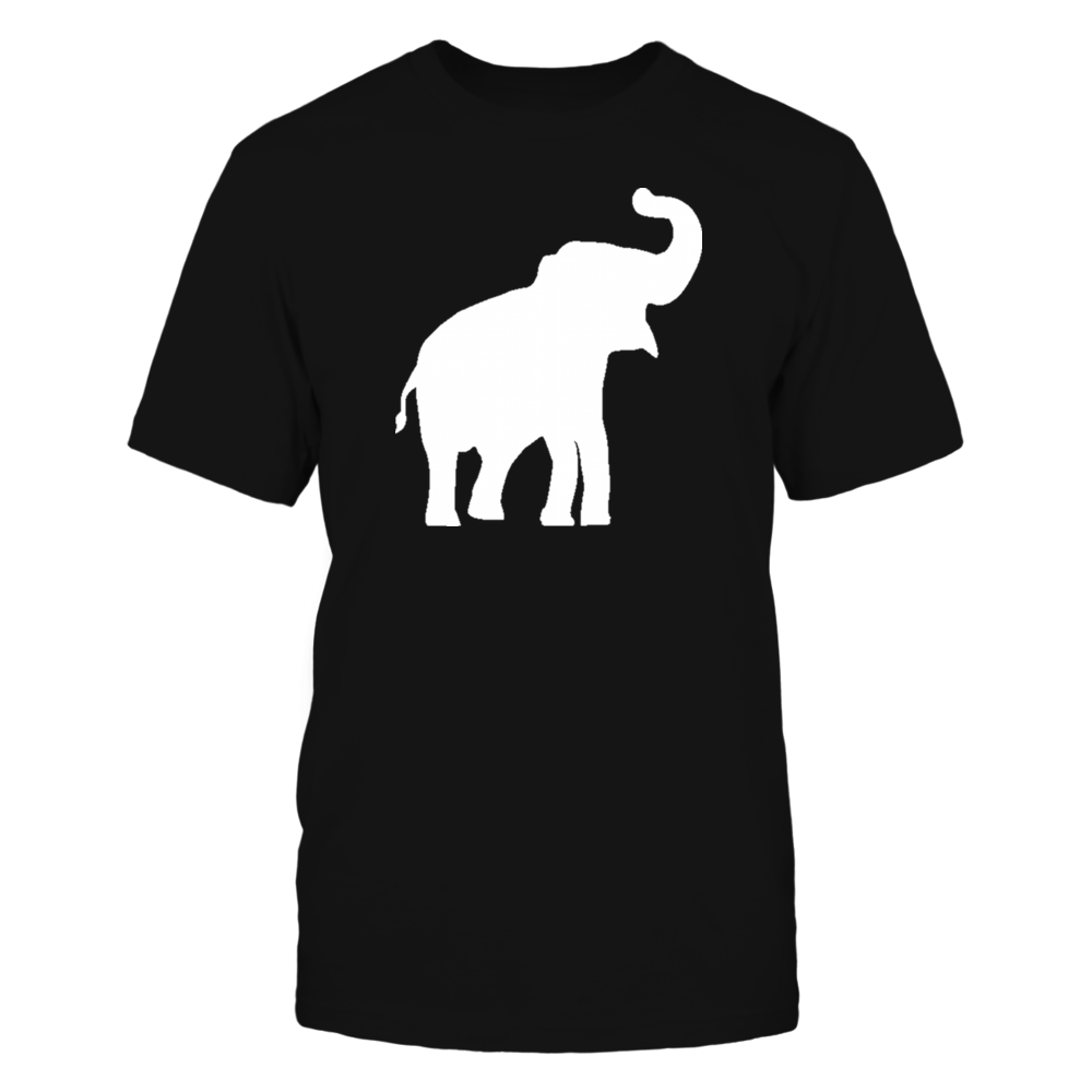 White Elephant Design  T Shirts Front picture