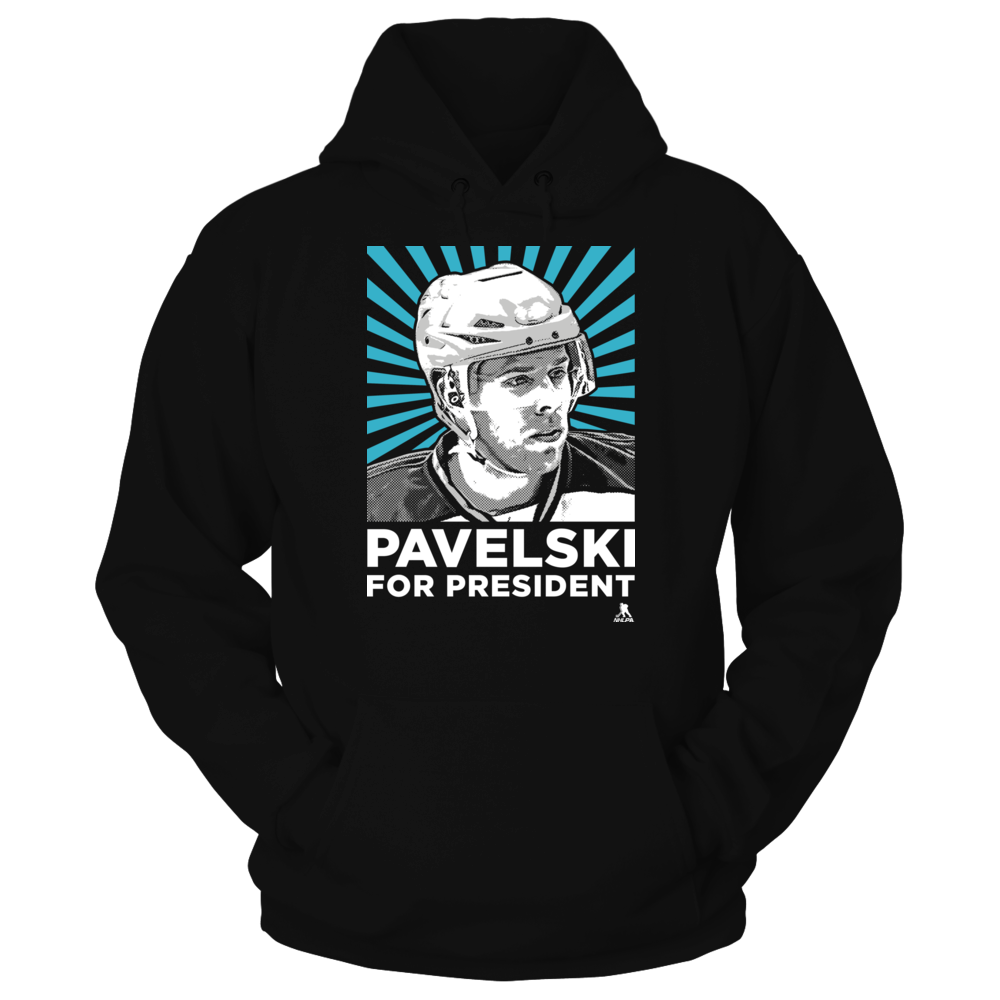 Joe Pavelski - Player For President Front picture