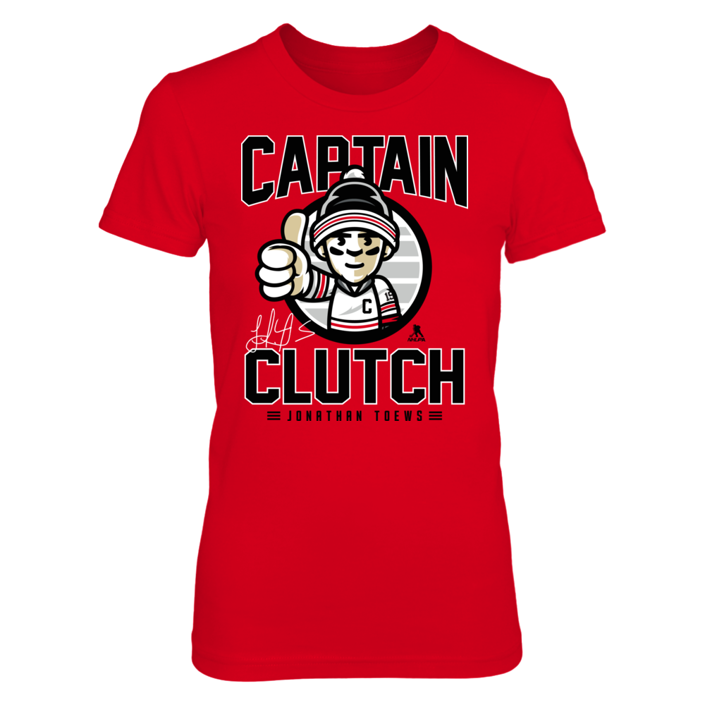 Jonathan Toews Jonathan Toews - Captain Clutch FanPrint