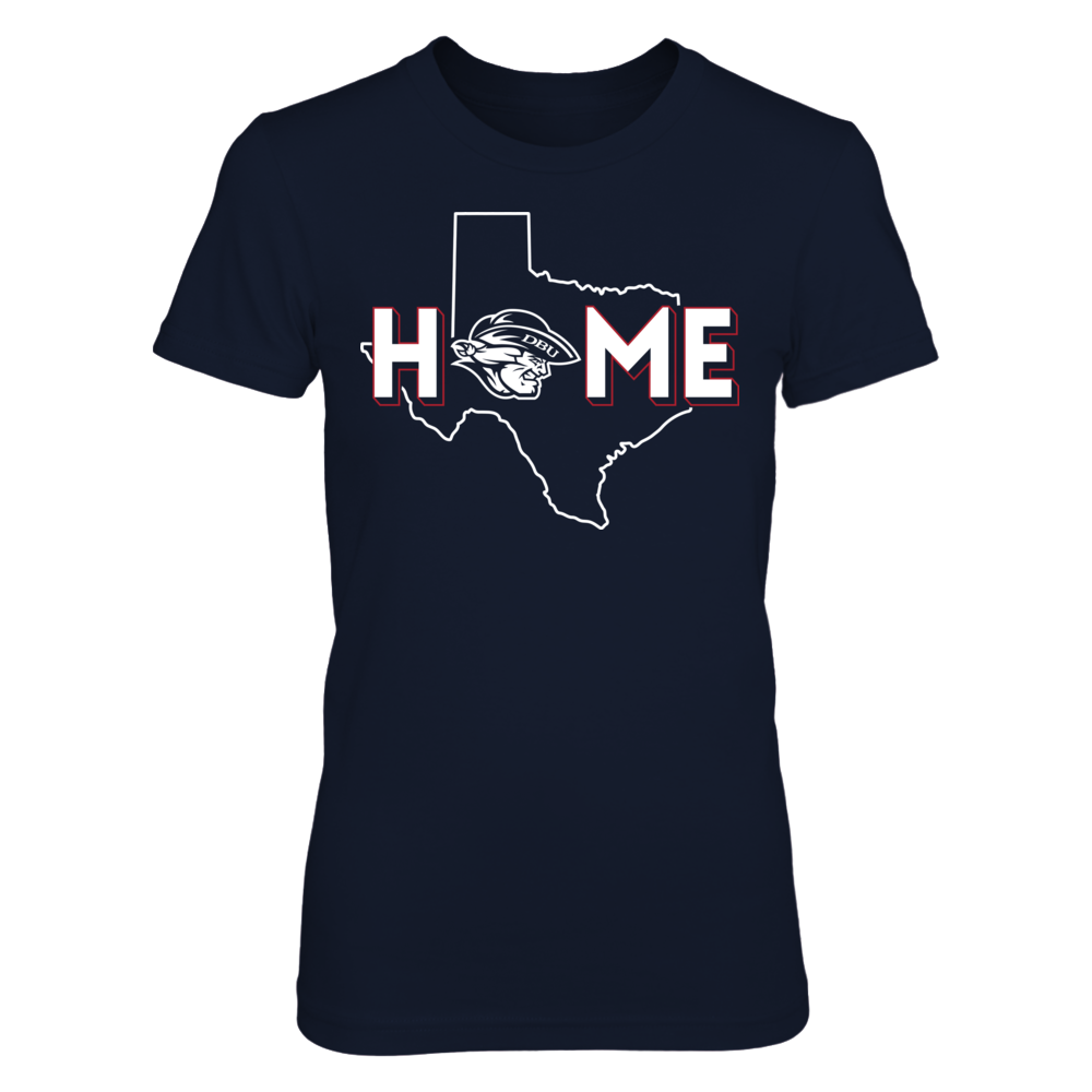 Dallas Baptist Patriots - Home With A State Outline Front picture