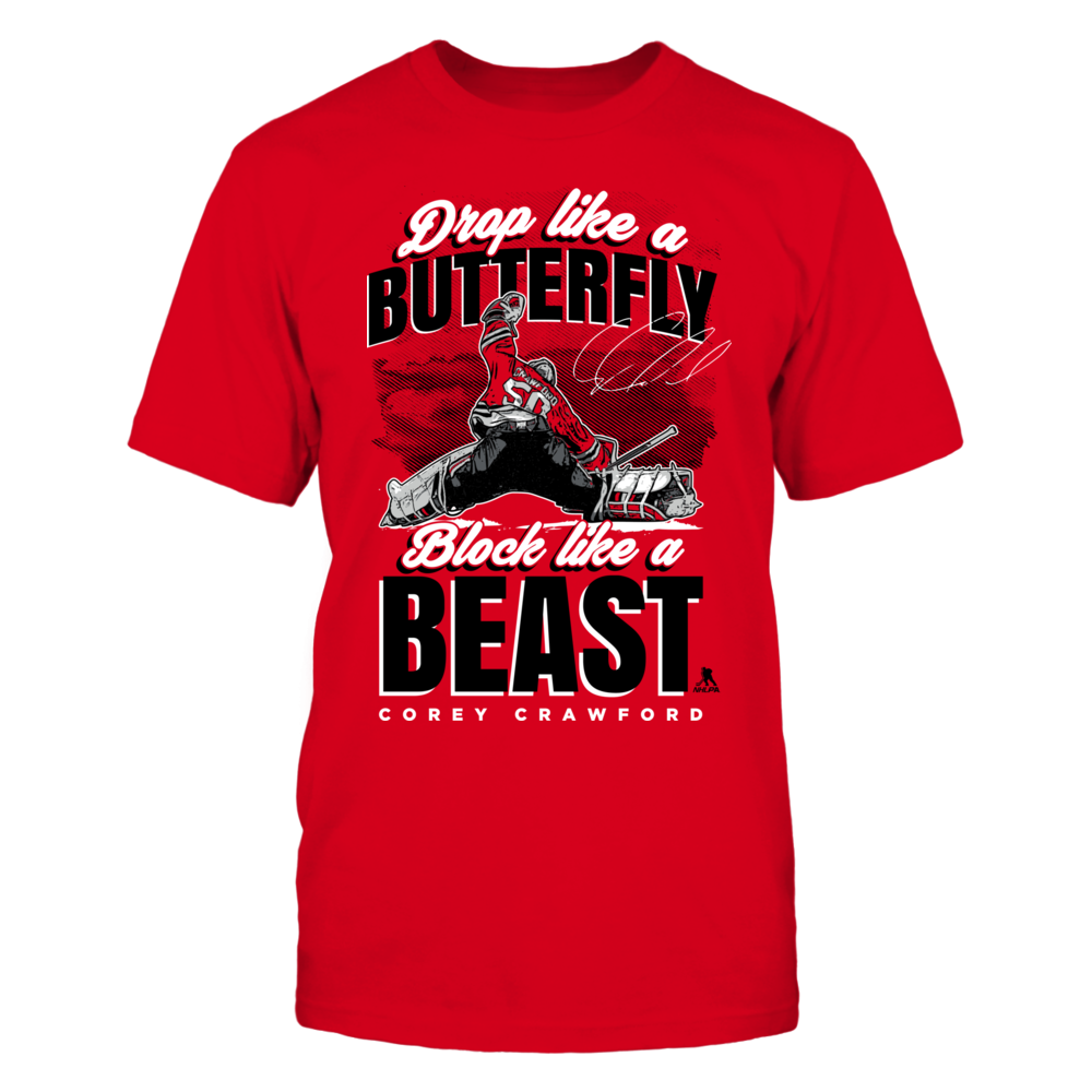Corey Crawford Corey Crawford - Drop Like A Butterfly FanPrint