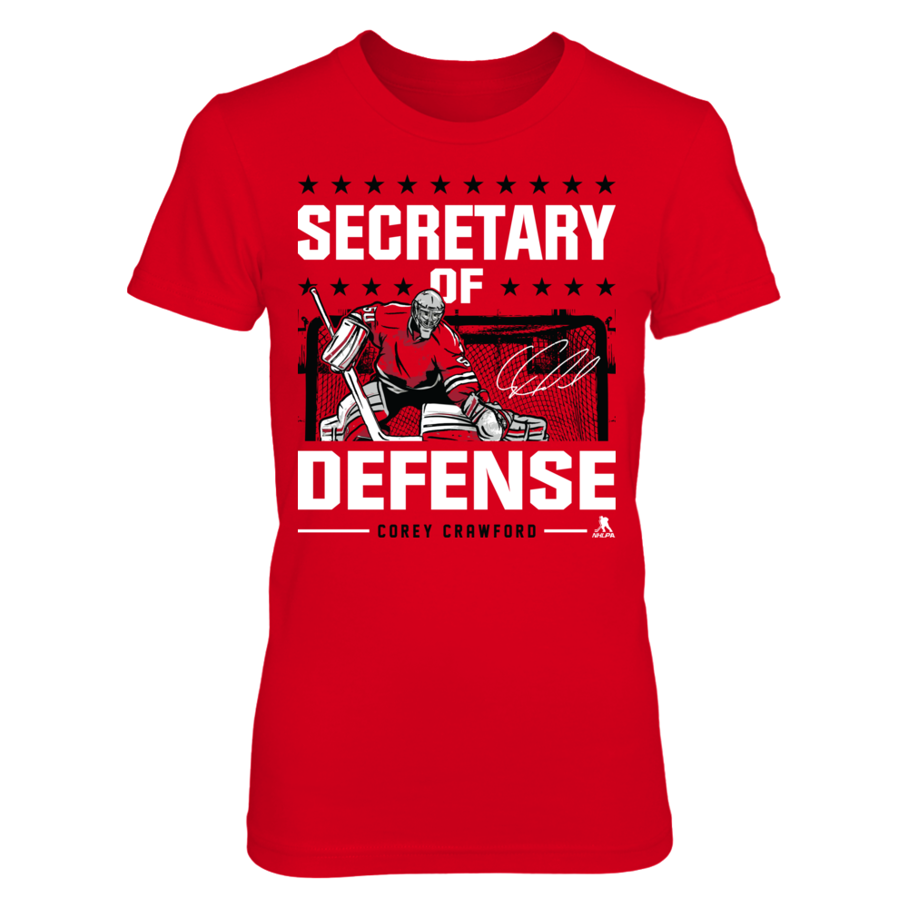 Corey Crawford Corey Crawford - Secretary Of Defense FanPrint