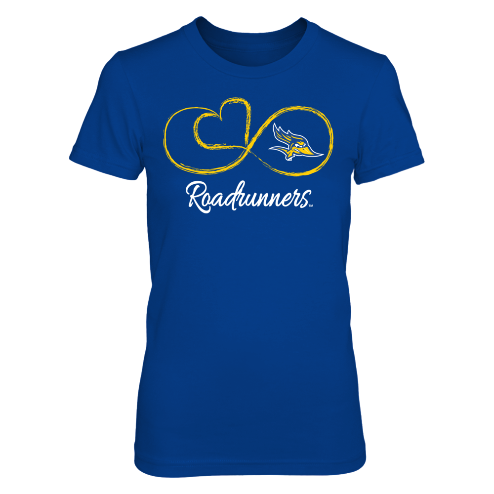 Cal State Bakersfield Roadrunners Cal State Bakersfield Roadrunners - Infinite Heart FanPrint