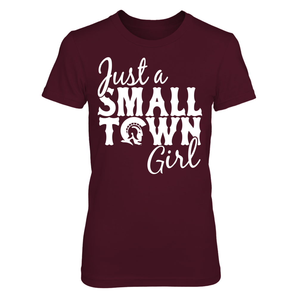 Arkansas Little Rock Trojans Just A Small Town Girl - Arkansas Little Rock Trojans FanPrint