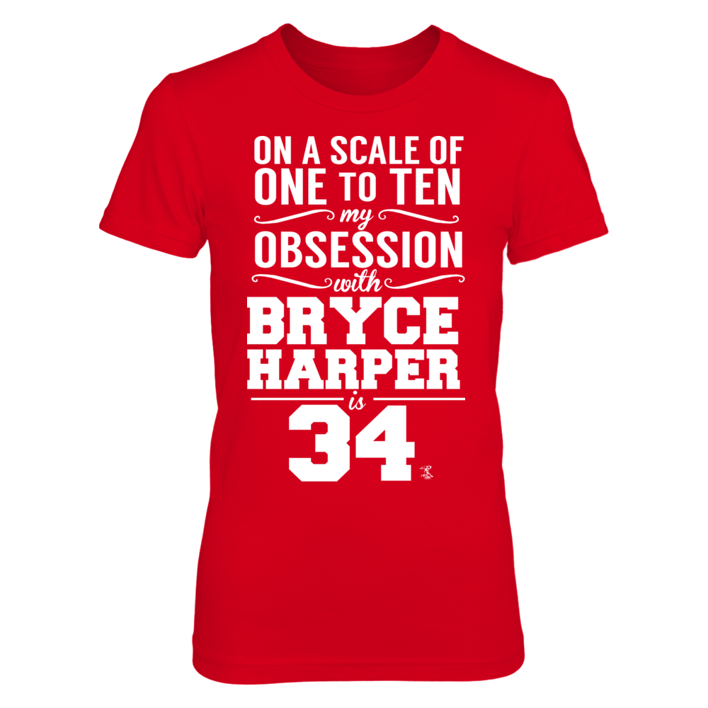 Bryce Harper Bryce Harper - Obsession Level FanPrint