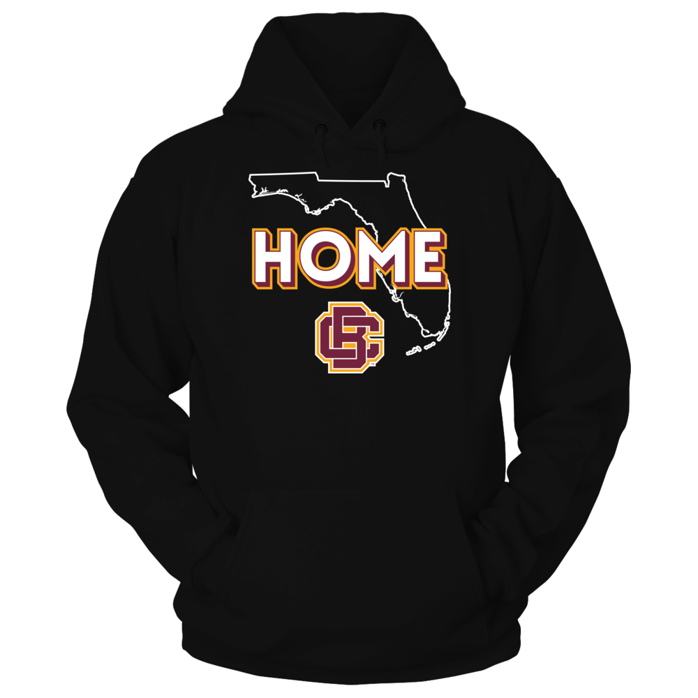 Bethune-Cookman Wildcats - Home With State Outline Front picture