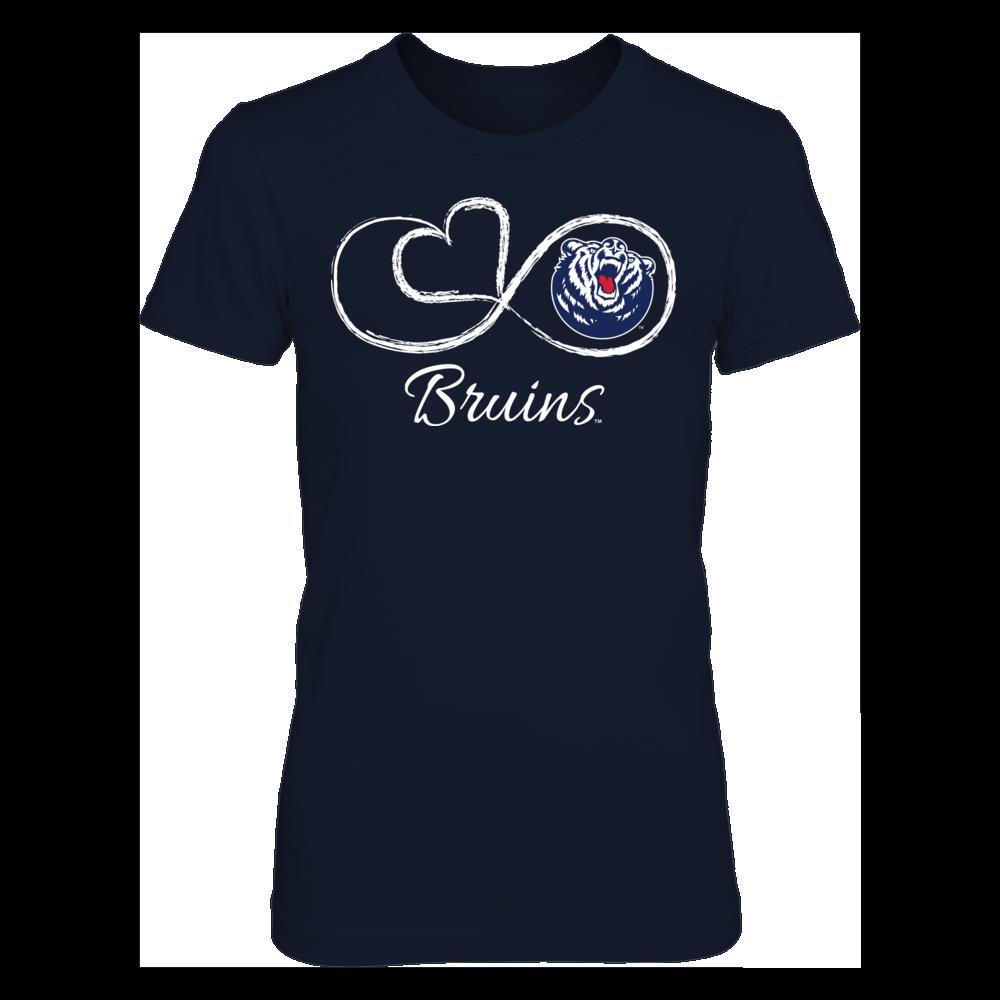 Belmont Bruins Belmont Bruins - Infinite Heart FanPrint