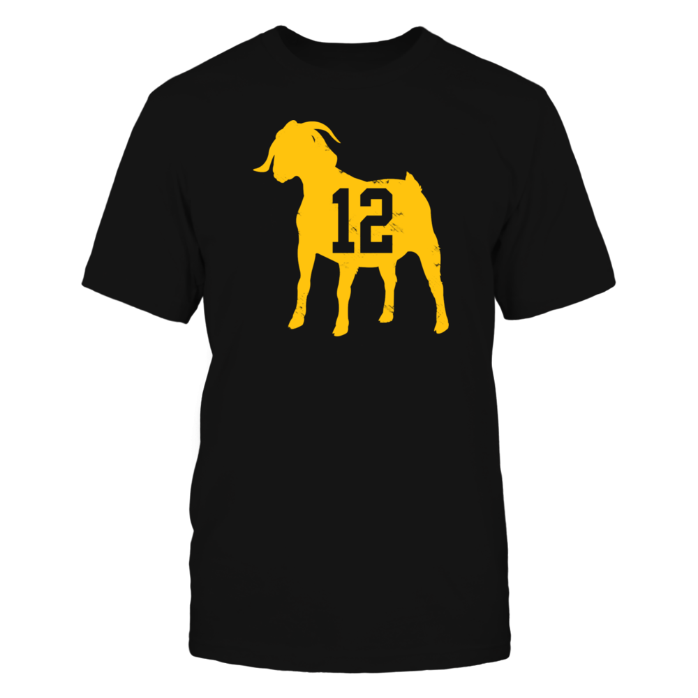 Aaron Rodgers Goat  T Shirts Front picture