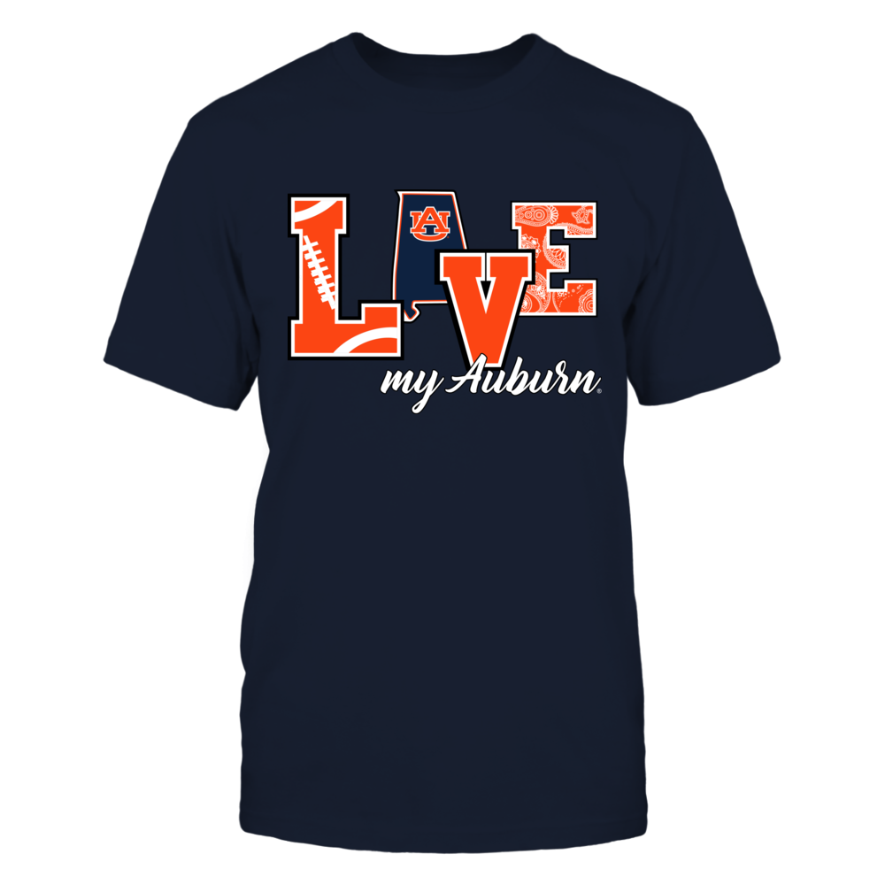 Auburn Tigers - Love My Auburn Front picture