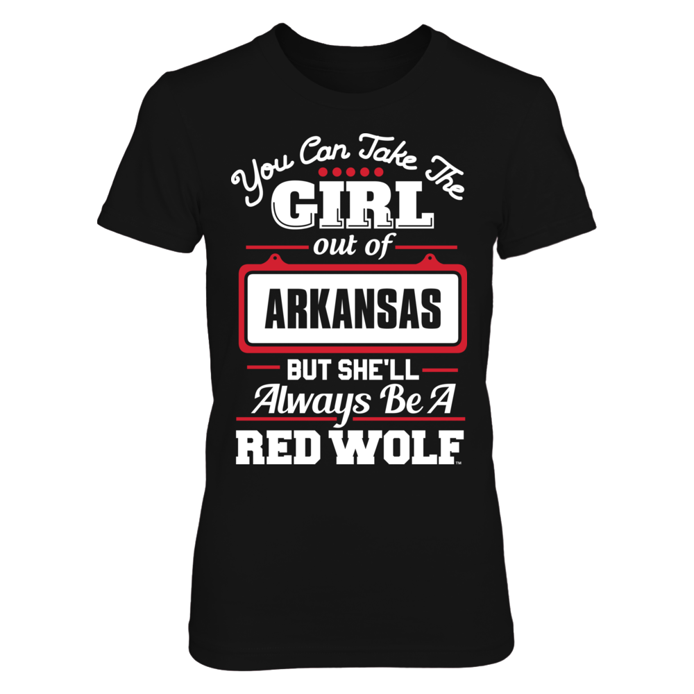 Arkansas State Red Wolves Arkansas State Red Wolves - Take Her Out FanPrint