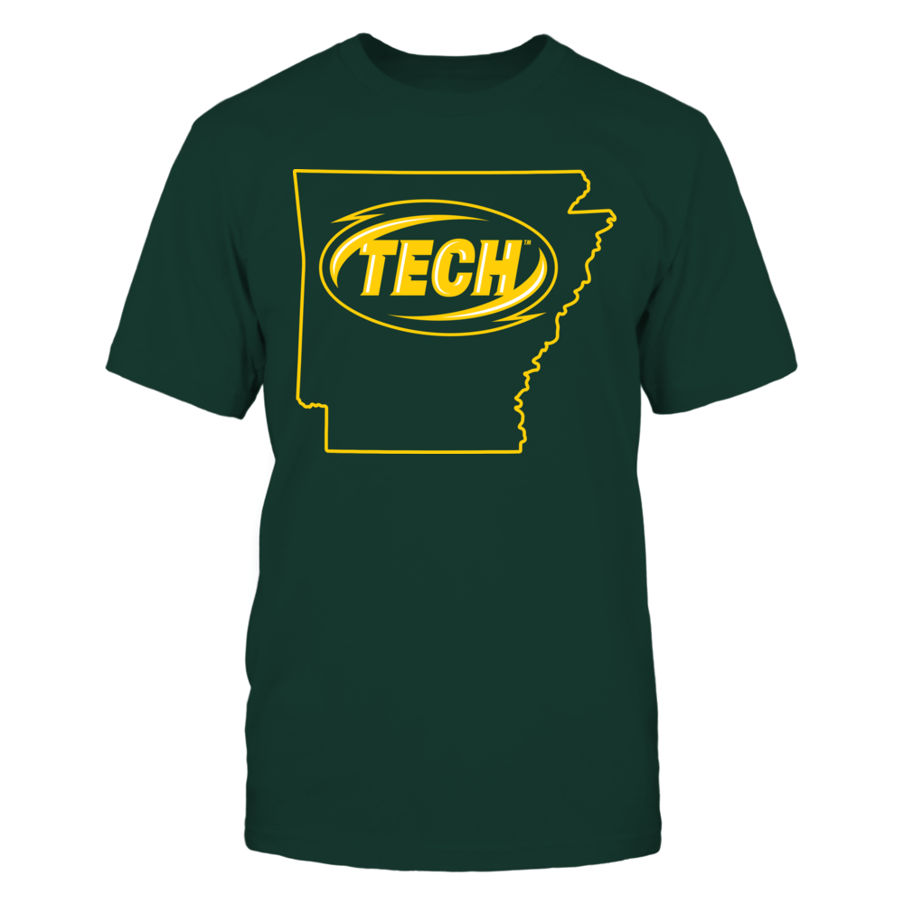 Logo State - Arkansas Tech Golden Suns Front picture