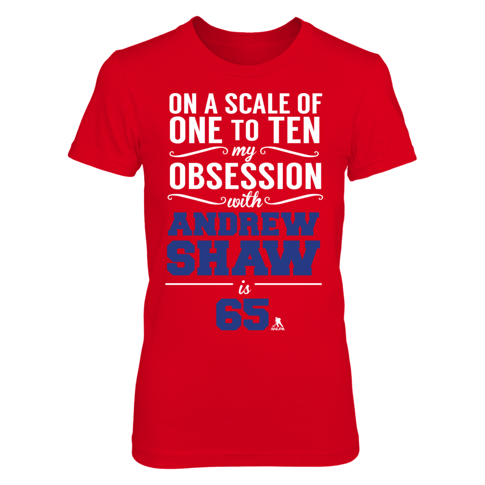 Andrew Shaw Andrew Shaw - Obsession Level FanPrint
