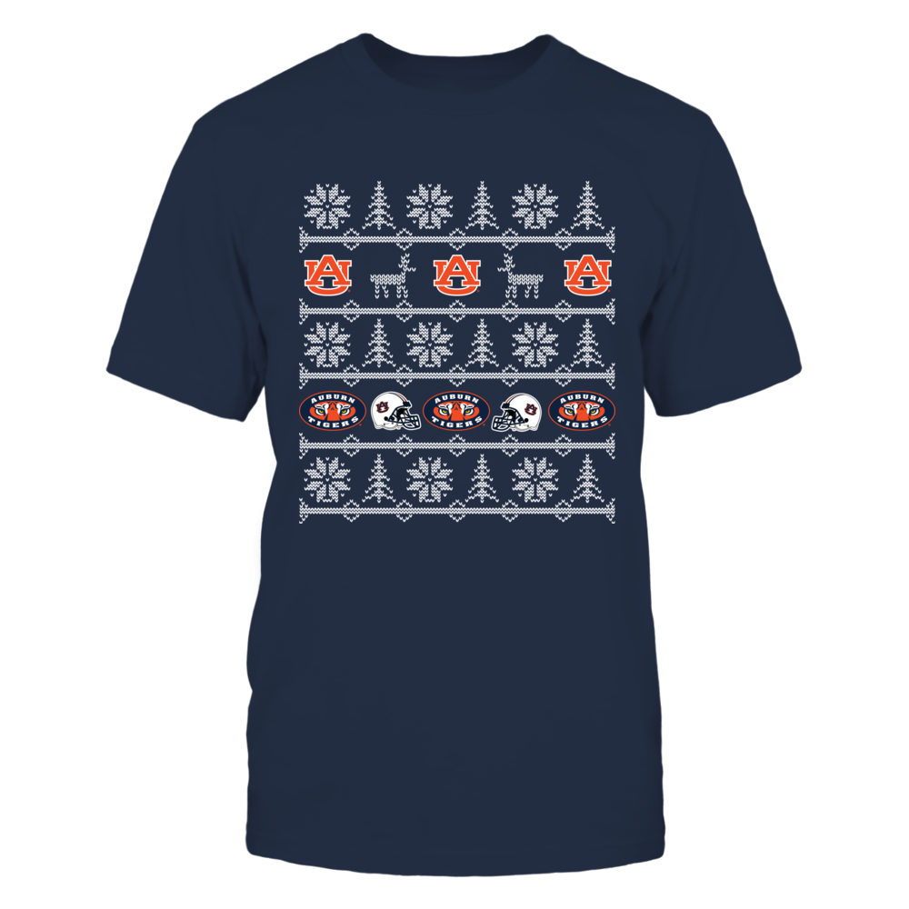 Ugly Christmas Sweater Auburn Tigers Front picture
