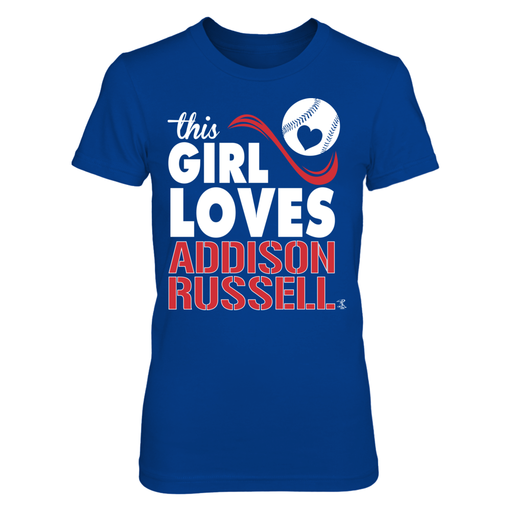 Addison Russell Addison Russell - This Girl Loves FanPrint