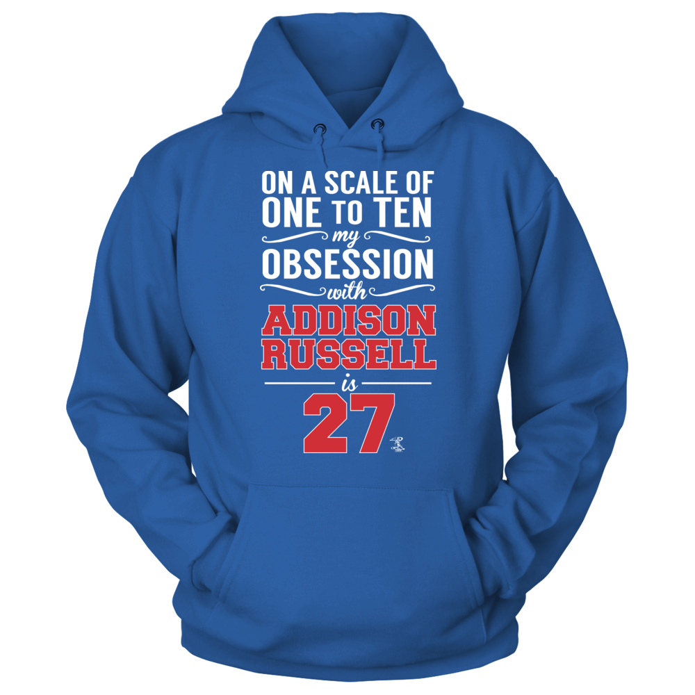 Addison Russell Addison Russell - Obsession Level FanPrint