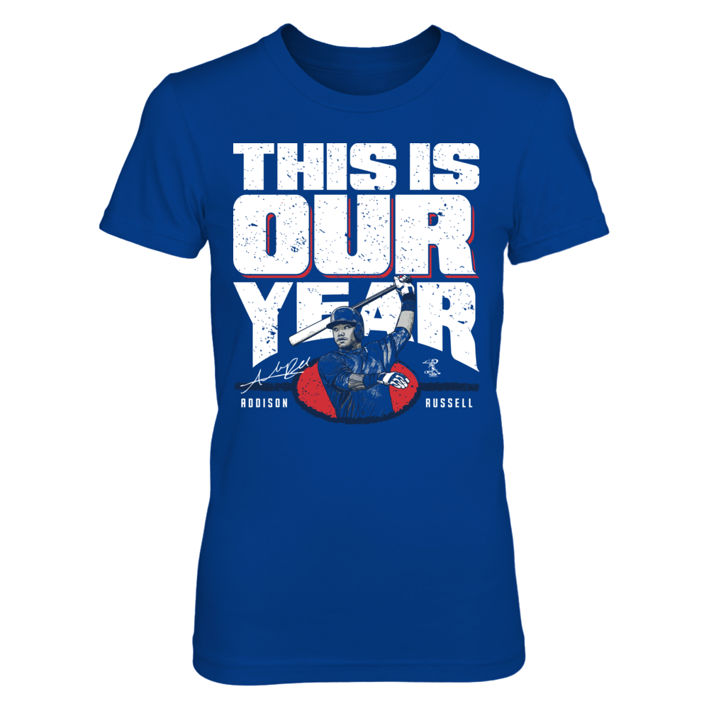 Addison Russell Addison Russell - This Is Our Year FanPrint